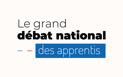 Le Grand Débat National des apprentis