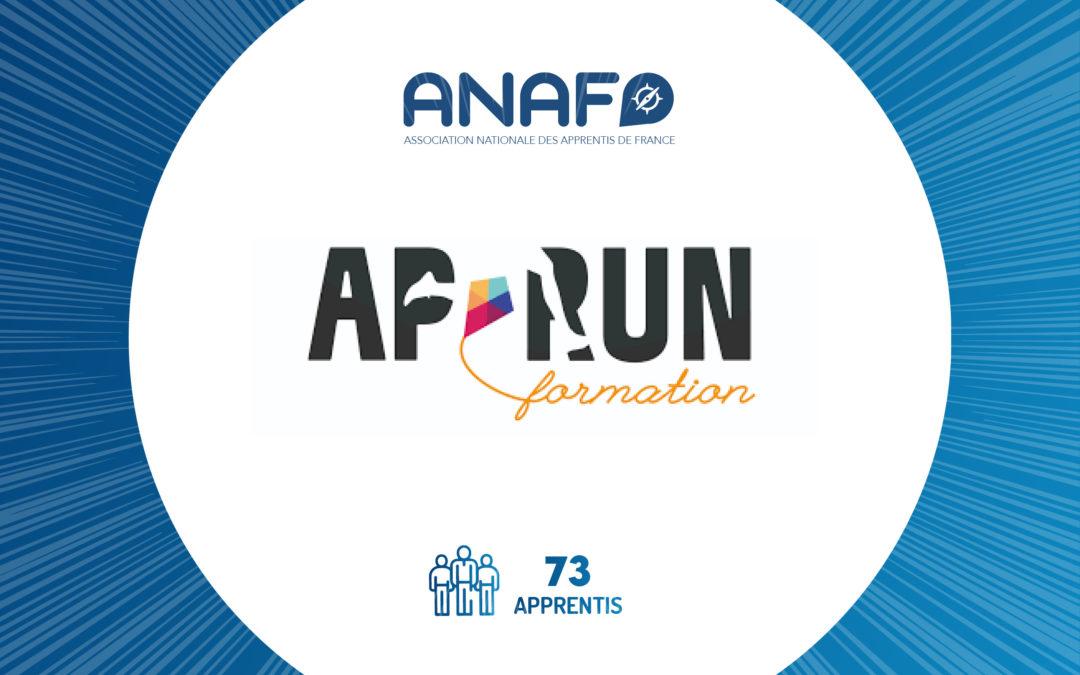 APRUN, adhérent à l'ANAF engagé pour l'accompagnement des alternants